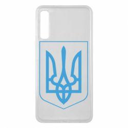 Чехол для Samsung A7 2018 Герб України з рамкою - FatLine