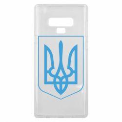 Чехол для Samsung Note 9 Герб України з рамкою