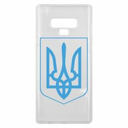Чехол для Samsung Note 9 Герб України з рамкою - FatLine