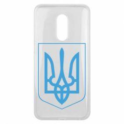 Чехол для Meizu 16 plus Герб України з рамкою - FatLine