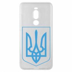 Чехол для Meizu Note 8 Герб України з рамкою - FatLine