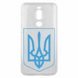Чехол для Meizu X8 Герб України з рамкою - FatLine