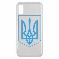 Чехол для Xiaomi Mi8 Pro Герб України з рамкою - FatLine