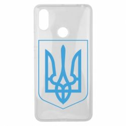 Чехол для Xiaomi Mi Max 3 Герб України з рамкою - FatLine