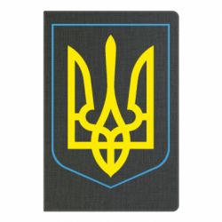 Блокнот А5 Герб України з рамкою - FatLine