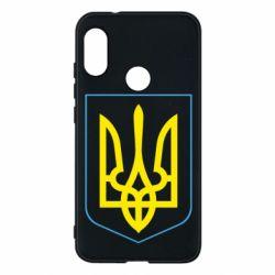 Чехол для Mi A2 Lite Герб України з рамкою - FatLine