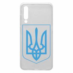 Чехол для Xiaomi Mi9 Герб України з рамкою