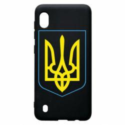 Чохол для Samsung A10 Герб України з рамкою