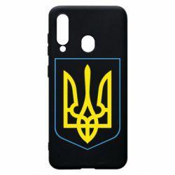 Чехол для Samsung A60 Герб України з рамкою