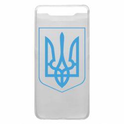 Чехол для Samsung A80 Герб України з рамкою