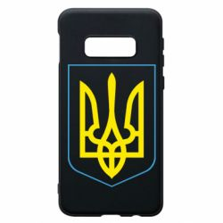 Чехол для Samsung S10e Герб України з рамкою