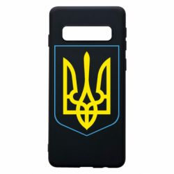 Чехол для Samsung S10 Герб України з рамкою