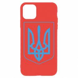 Чехол для iPhone 11 Герб України з рамкою