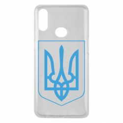 Чохол для Samsung A10s Герб України з рамкою
