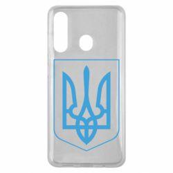 Чохол для Samsung M40 Герб України з рамкою