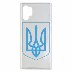 Чехол для Samsung Note 10 Plus Герб України з рамкою
