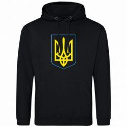 Чоловіча толстовка Герб України з рамкою