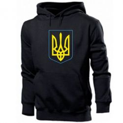 Толстовка Герб України з рамкою - FatLine