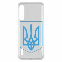 Чохол для Xiaomi Mi A3 Герб України з рамкою