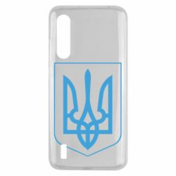 Чехол для Xiaomi Mi9 Lite Герб України з рамкою