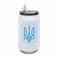 Термобанка 350ml Герб України з рамкою