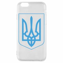 Чехол для iPhone 6/6S Герб України з рамкою - FatLine