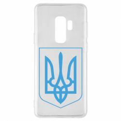 Чехол для Samsung S9+ Герб України з рамкою - FatLine