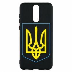 Чехол для Huawei Mate 10 Lite Герб України з рамкою - FatLine
