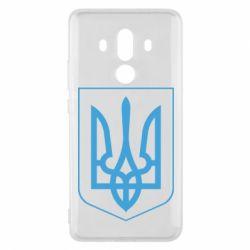 Чехол для Huawei Mate 10 Pro Герб України з рамкою - FatLine
