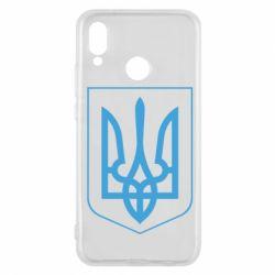 Чехол для Huawei P20 Lite Герб України з рамкою - FatLine