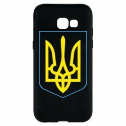 Чехол для Samsung A5 2017 Герб України з рамкою - FatLine