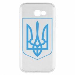Чехол для Samsung A7 2017 Герб України з рамкою - FatLine
