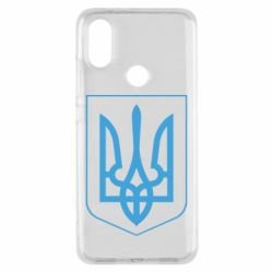Чехол для Xiaomi Mi A2 Герб України з рамкою - FatLine