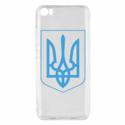 Чехол для Xiaomi Xiaomi Mi5/Mi5 Pro Герб України з рамкою - FatLine