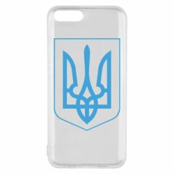 Чехол для Xiaomi Mi6 Герб України з рамкою - FatLine
