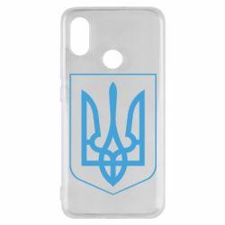 Чехол для Xiaomi Mi8 Герб України з рамкою - FatLine