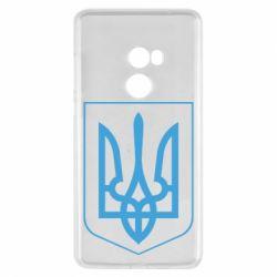 Чехол для Xiaomi Mi Mix 2 Герб України з рамкою - FatLine