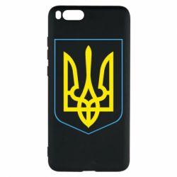 Чехол для Xiaomi Mi Note 3 Герб України з рамкою - FatLine