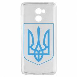 Чехол для Xiaomi Redmi 4 Герб України з рамкою - FatLine