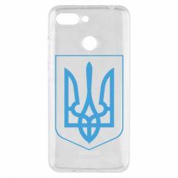 Чехол для Xiaomi Redmi 6 Герб України з рамкою - FatLine