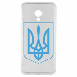 Чехол для Meizu M5 Герб України з рамкою - FatLine
