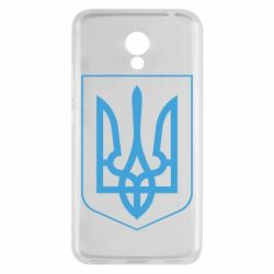 Чехол для Meizu M5c Герб України з рамкою - FatLine