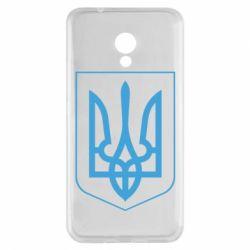 Чехол для Meizu M5s Герб України з рамкою - FatLine