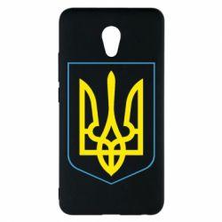 Чехол для Meizu M5 Note Герб України з рамкою - FatLine
