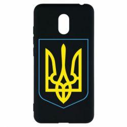 Чехол для Meizu M6 Герб України з рамкою - FatLine