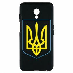 Чехол для Meizu M6s Герб України з рамкою - FatLine