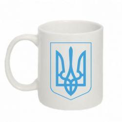 Кружка 320ml Герб України з рамкою - FatLine