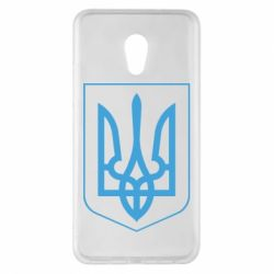 Чехол для Meizu Pro 6 Plus Герб України з рамкою - FatLine