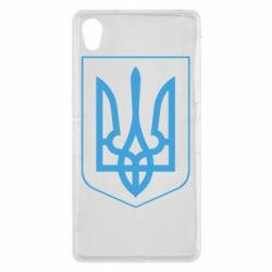 Чехол для Sony Xperia Z2 Герб України з рамкою - FatLine