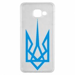 Чехол для Samsung A3 2016 Герб України загострений - FatLine